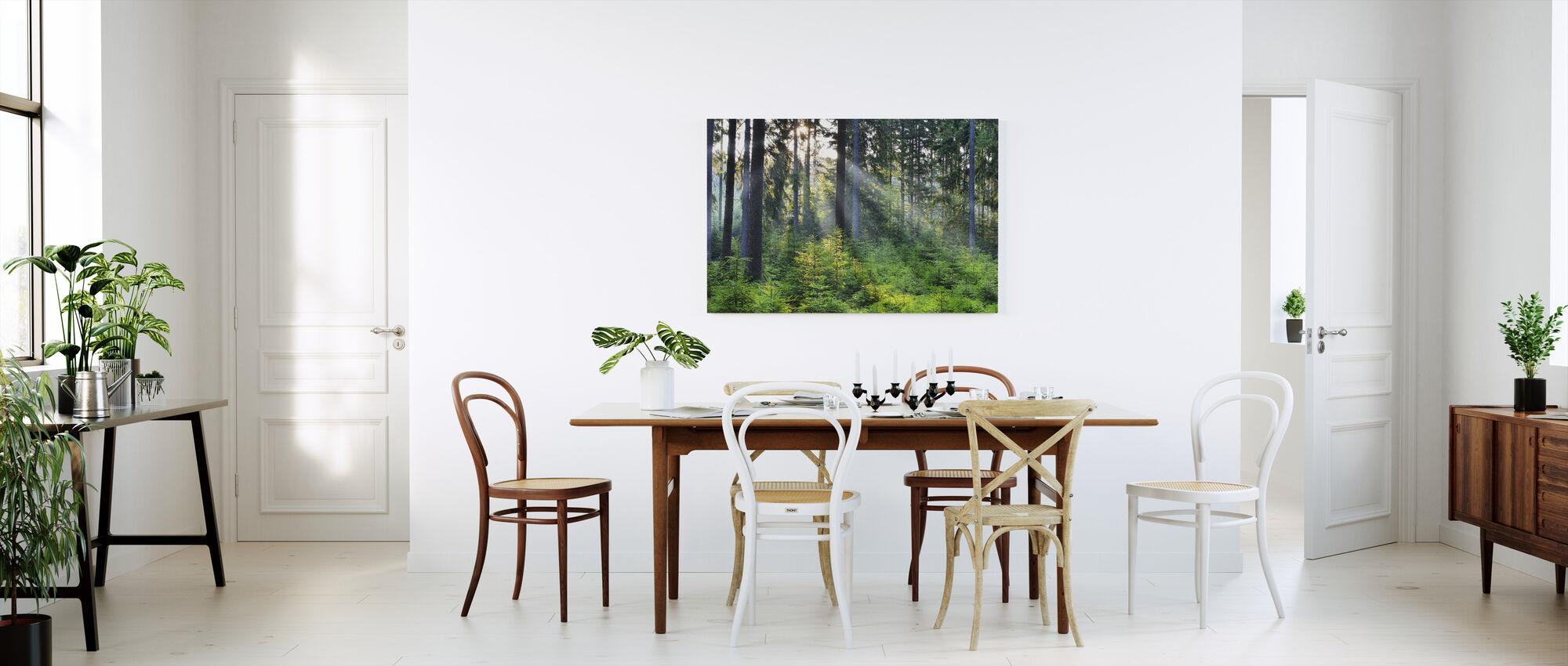 Skoguppvaknande - Canvastavla - Kök