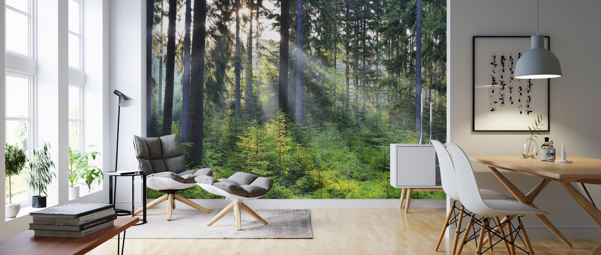 Metsä herääminen - Tapetti - Olohuone