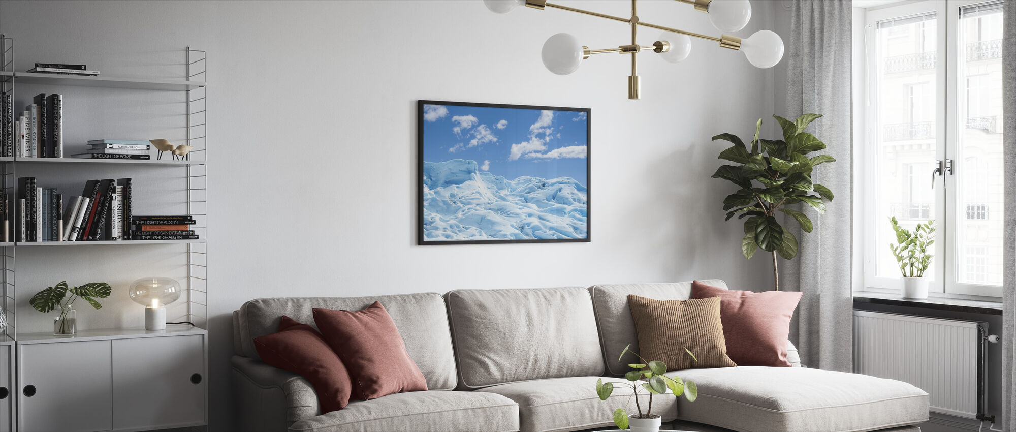 Frozen Ground - Framed print - Living Room