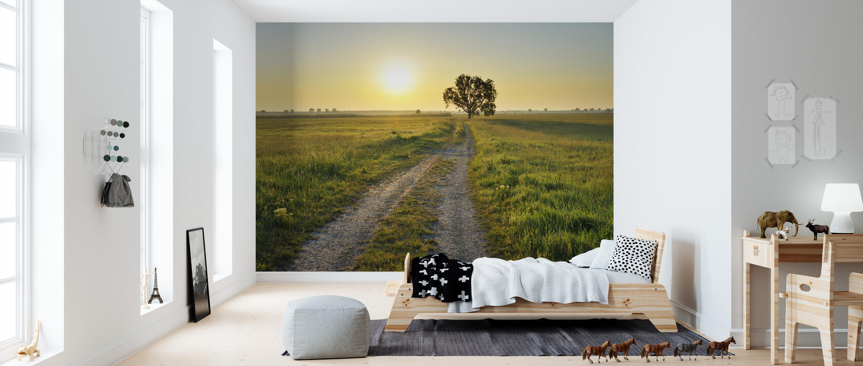inspiring path fototapete nach ma photowall. Black Bedroom Furniture Sets. Home Design Ideas