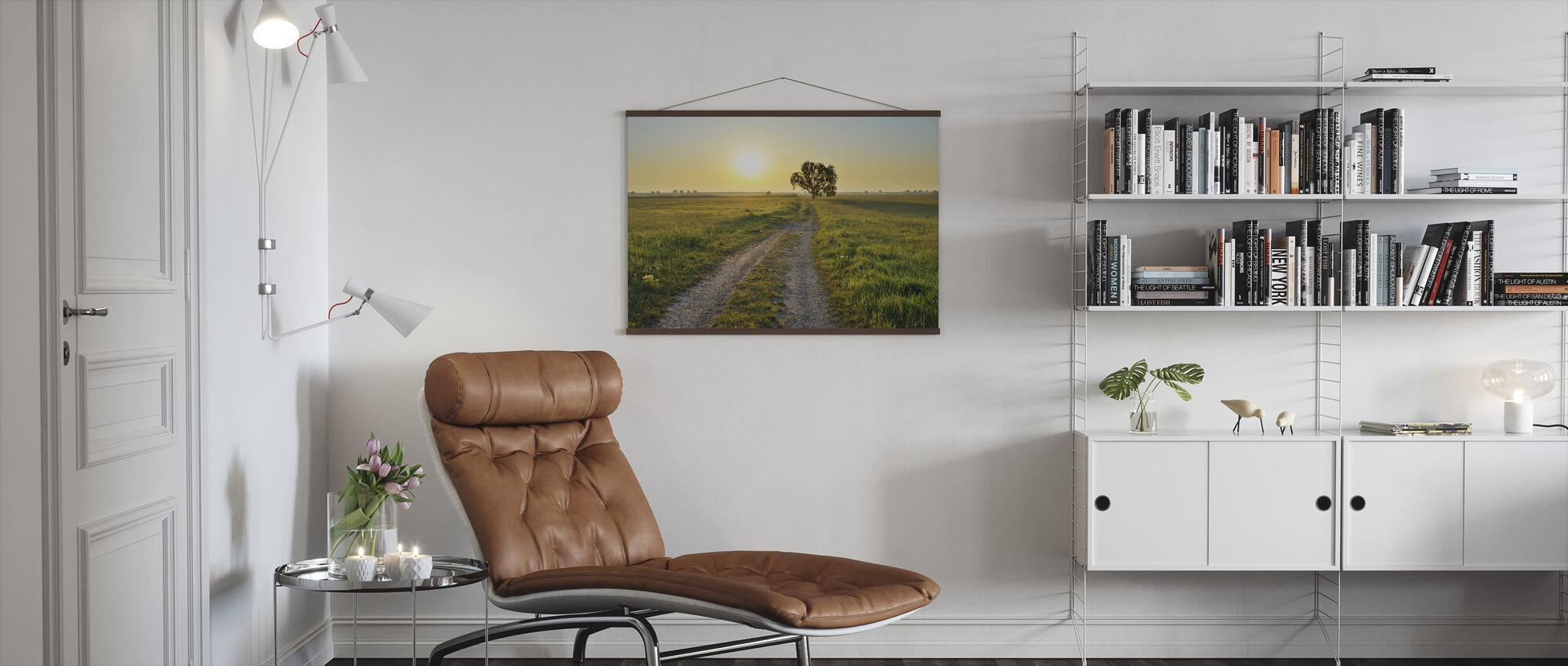 Inspiring Path - Poster - Living Room