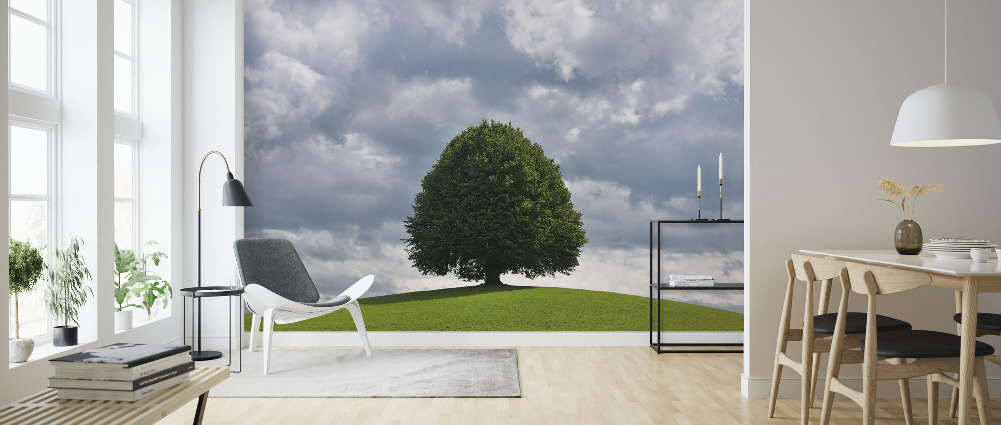 Lime Tree - Wallpaper - Living Room