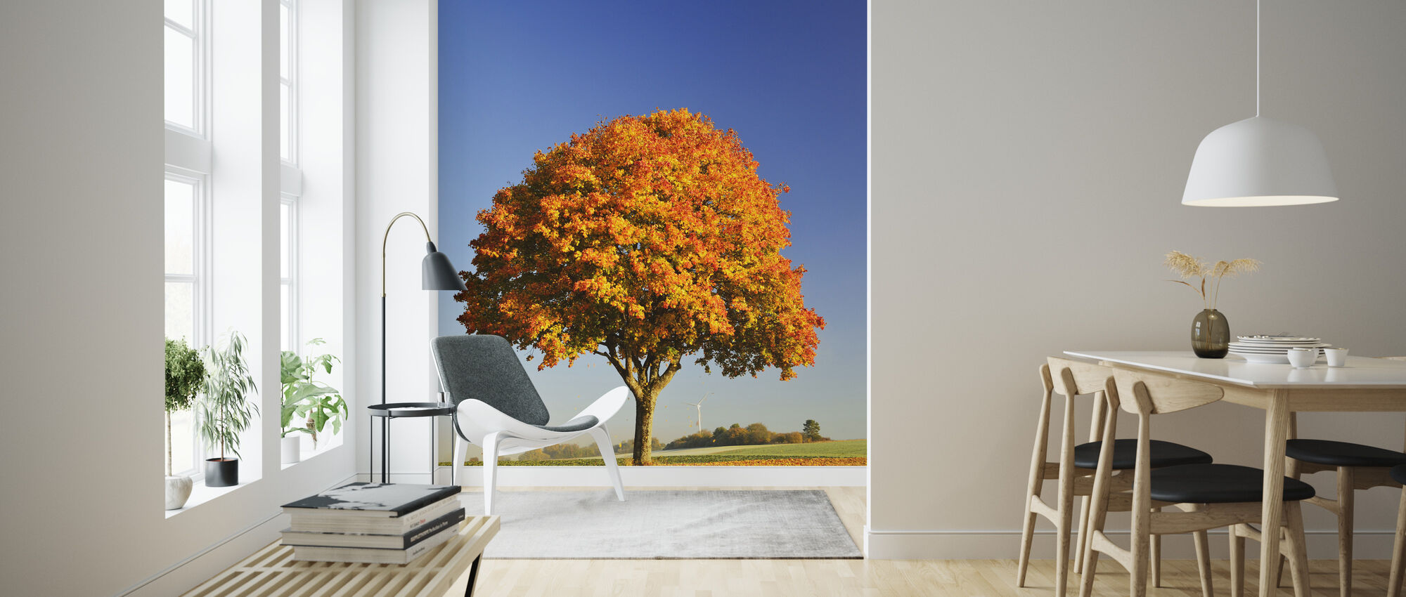 Majestic Maple Tree - Wallpaper - Living Room