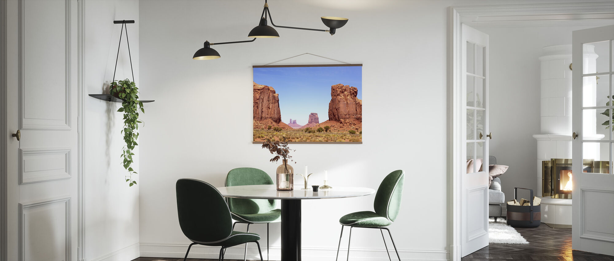 North Window of Monument Valley - Poster - Kitchen