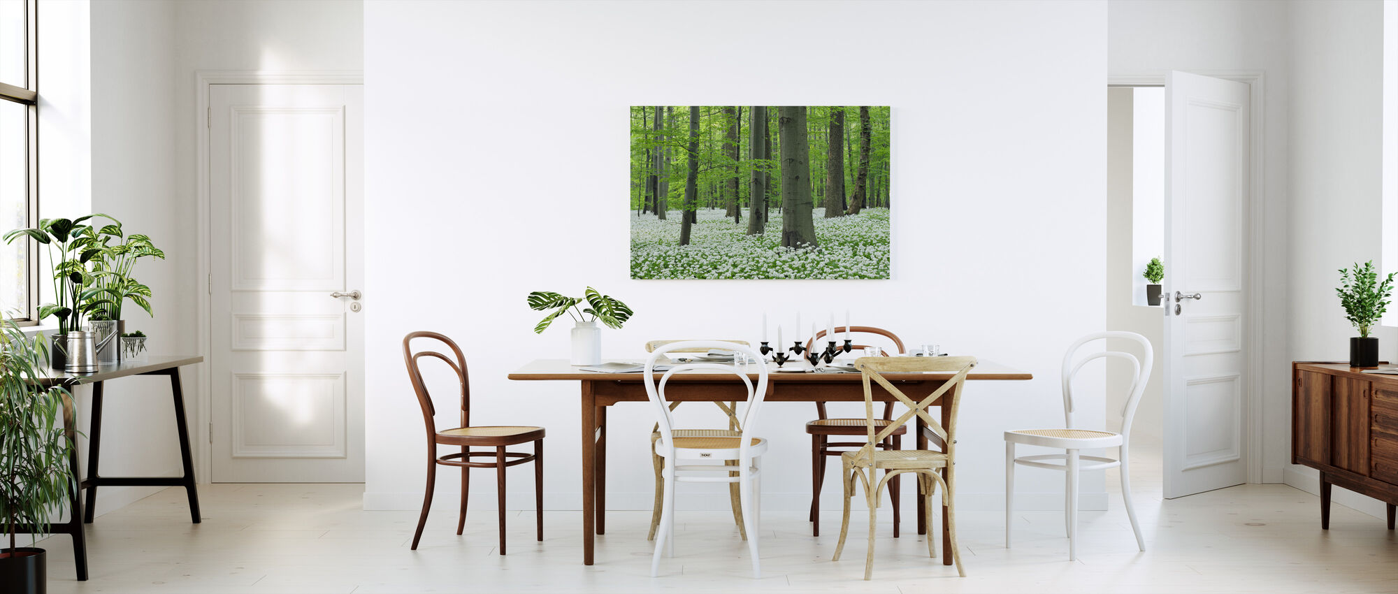 Ramsons Forest - Canvas print - Kitchen