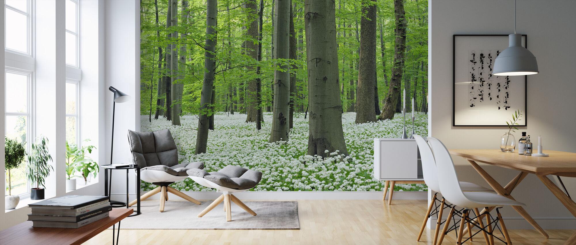 Ramsons skog - Tapet - Vardagsrum
