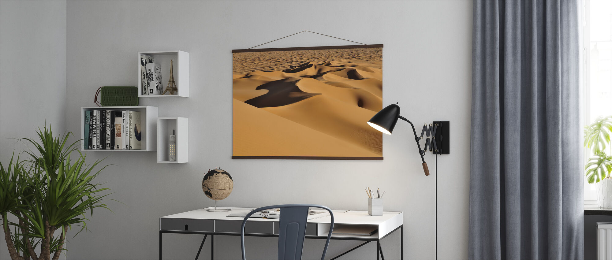 Sand Dunes - Poster - Office