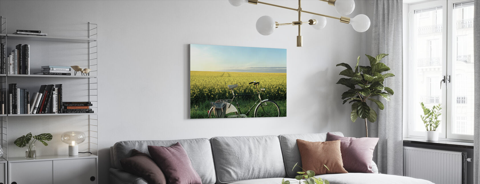 The End of the Lane - Canvas print - Living Room