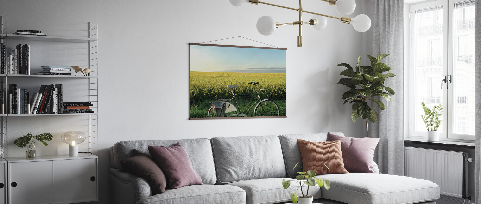 The End of the Lane - Poster - Living Room