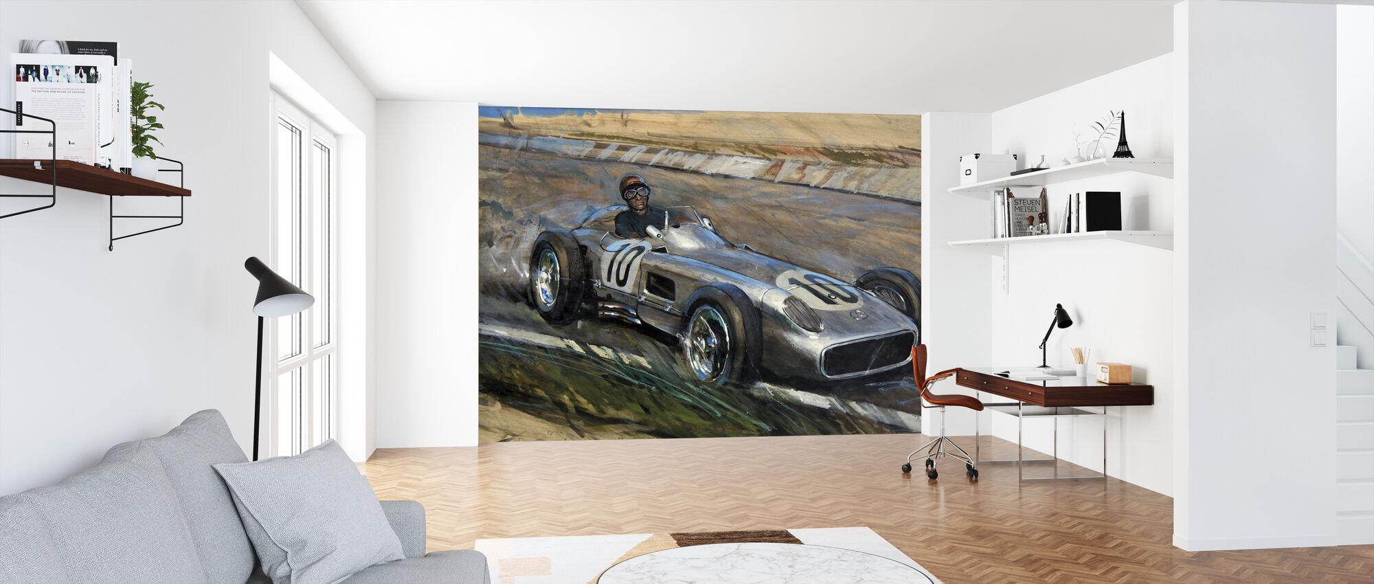 At Speed - Wallpaper - Office