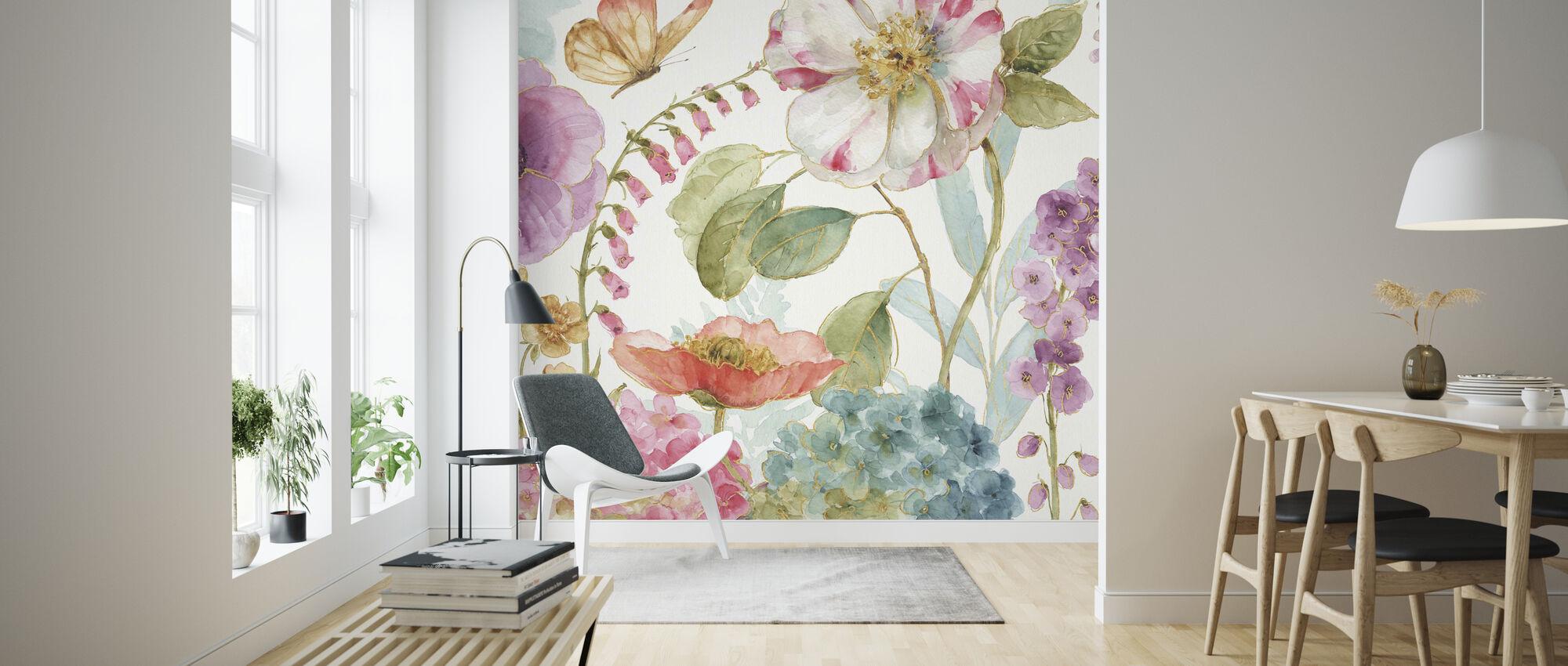 Garden Delight 2 - Wallpaper - Living Room