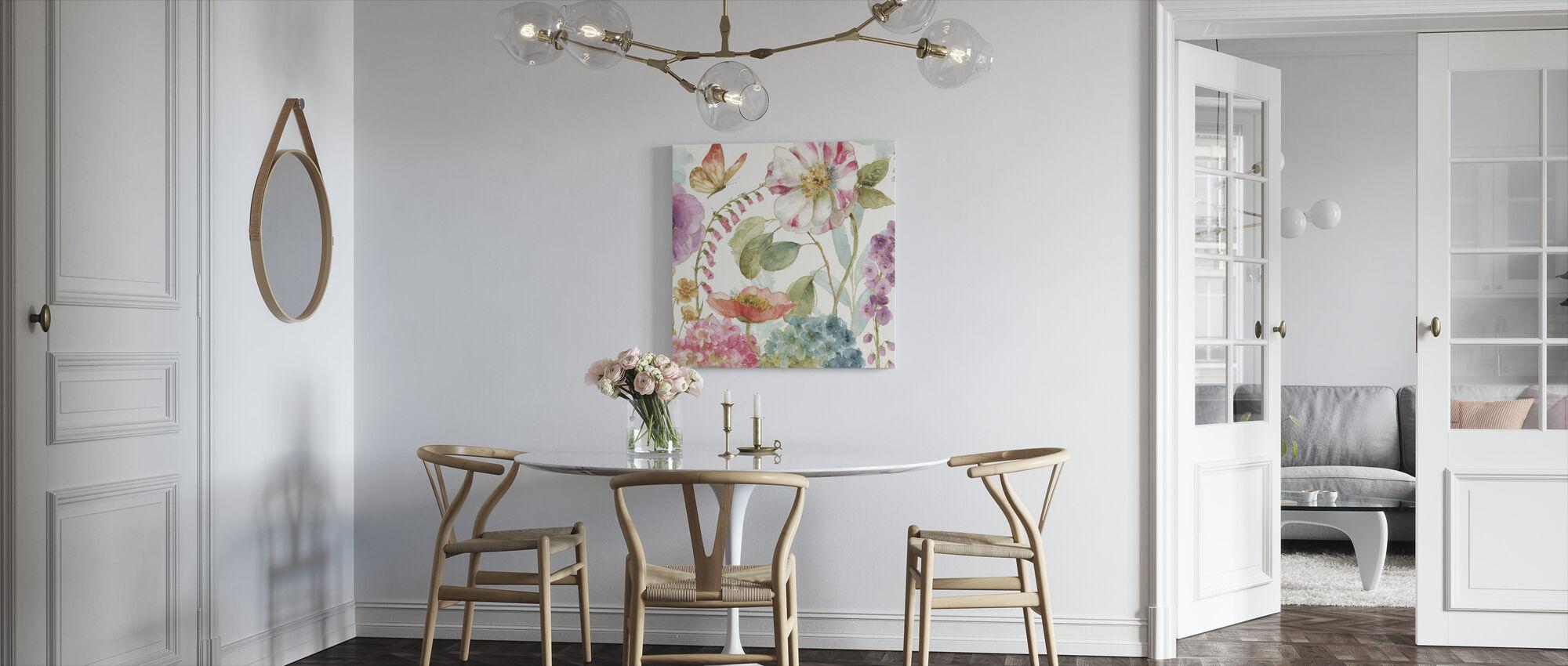 Garden Delight 2 - Canvas print - Kitchen