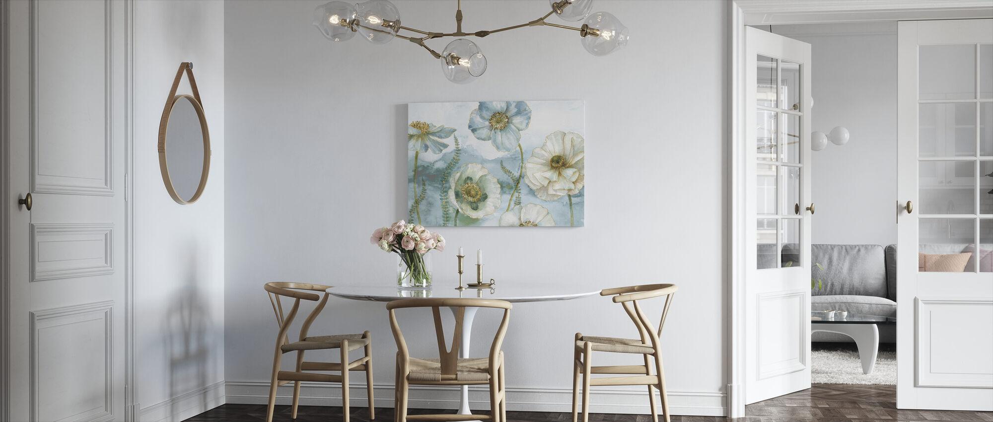 Mijn broeikas Bloemen - Canvas print - Keuken