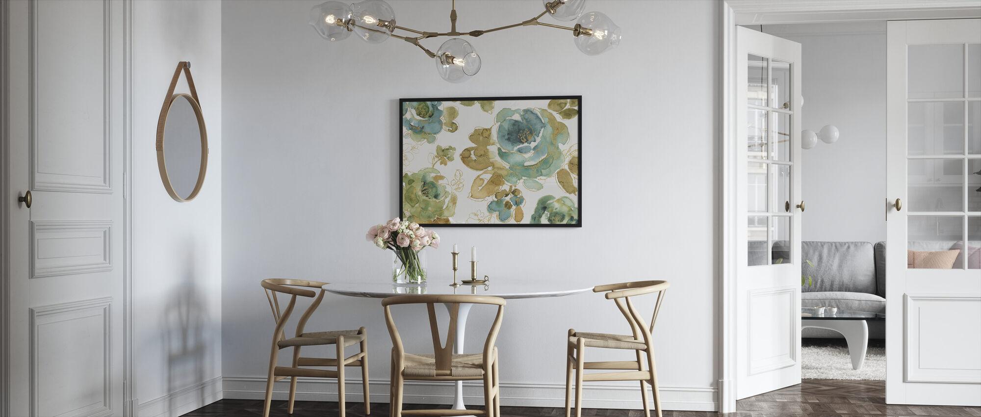 Kasvihuoneeni ruusut - Kehystetty kuva - Keittiö