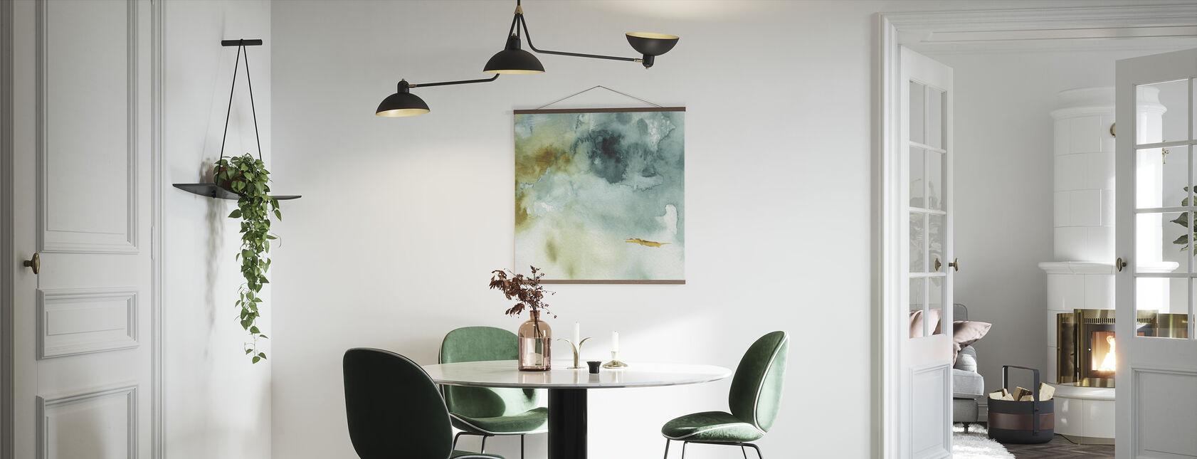Mijn broeikas aquarel 2 - Poster - Keuken