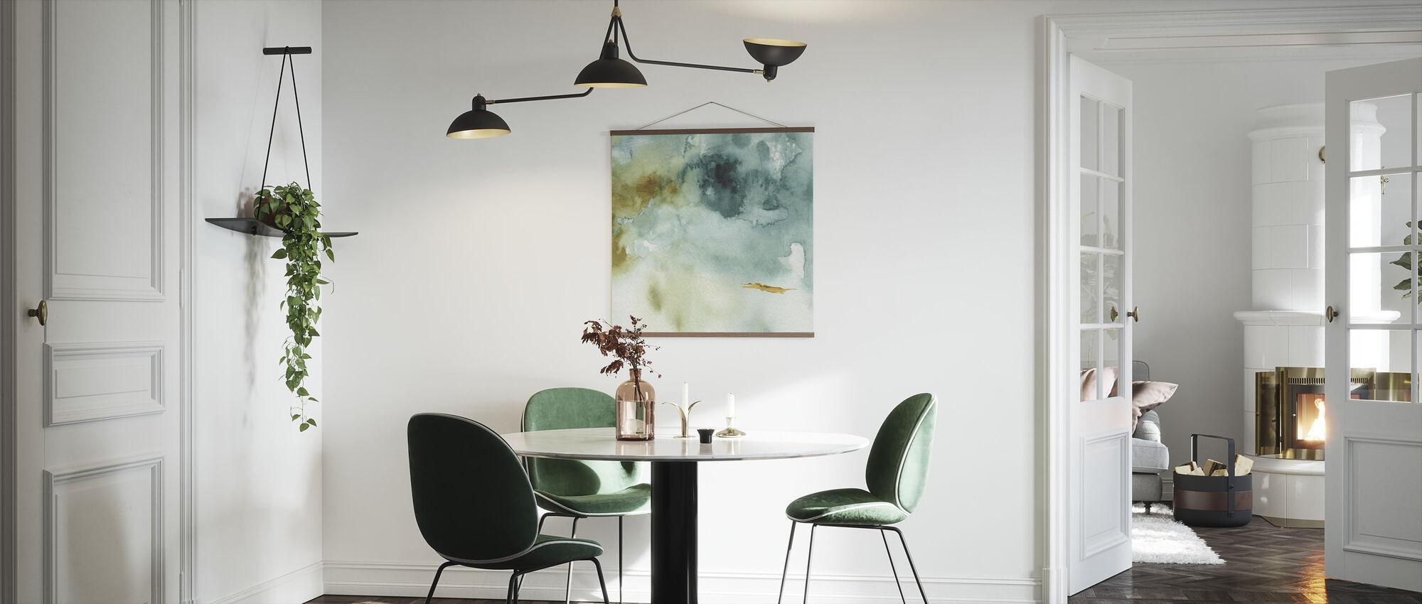 Min drivhus akvarell 2 - Plakat - Kjøkken