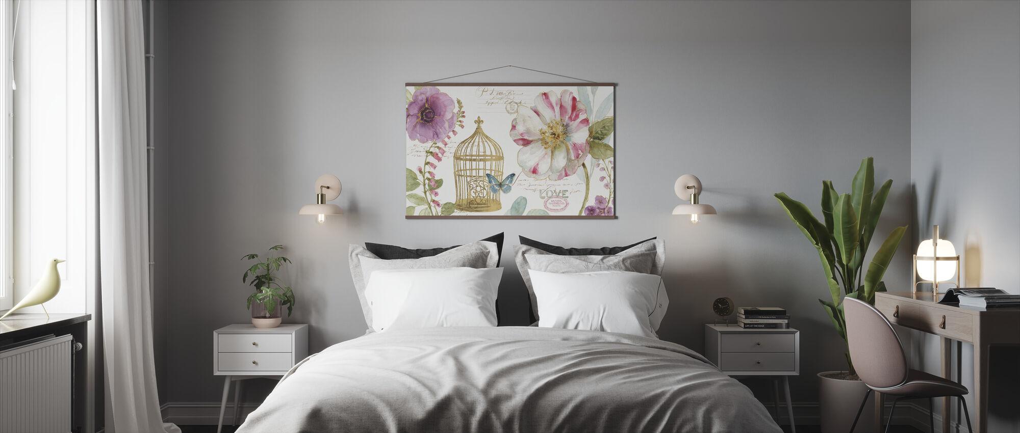 Rainbow Seeds Birdcage - Poster - Bedroom