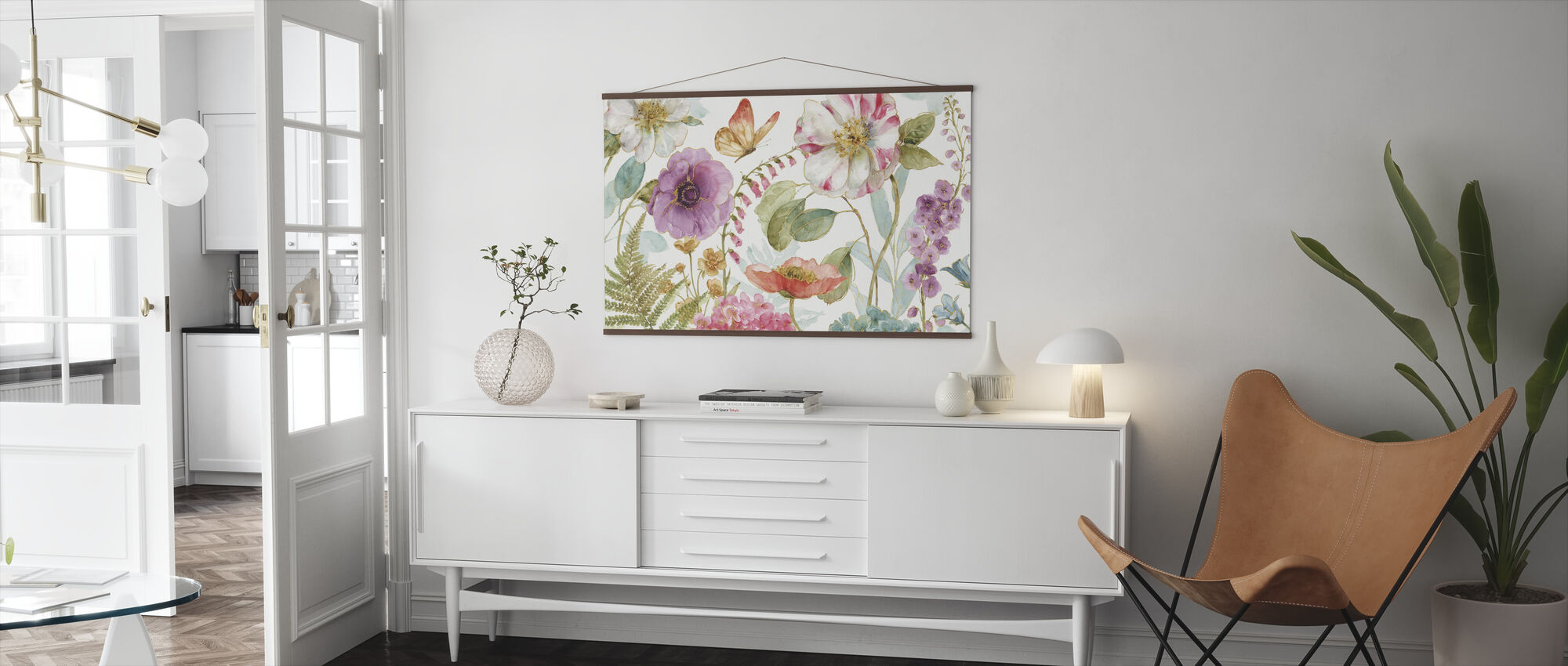 Rainbow Seeds Flowers 1 - Poster - Living Room