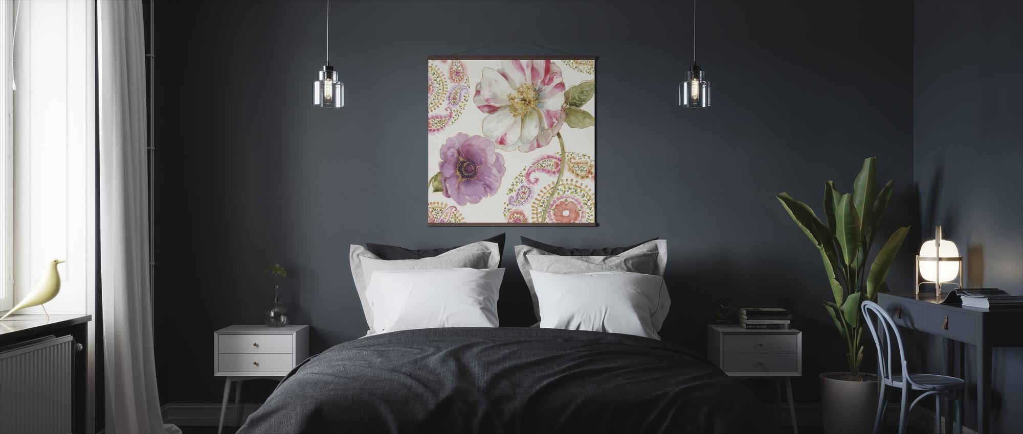 Rainbow Seeds Paisley 1 - Poster - Bedroom