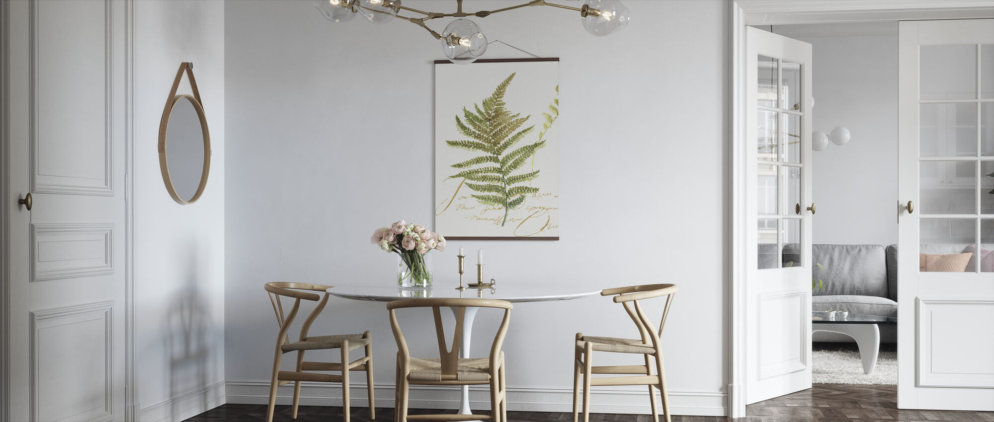 Aquarel Varen - Poster - Keuken