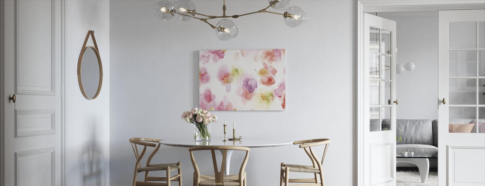 Akvarell Petals - Lerretsbilde - Kjøkken