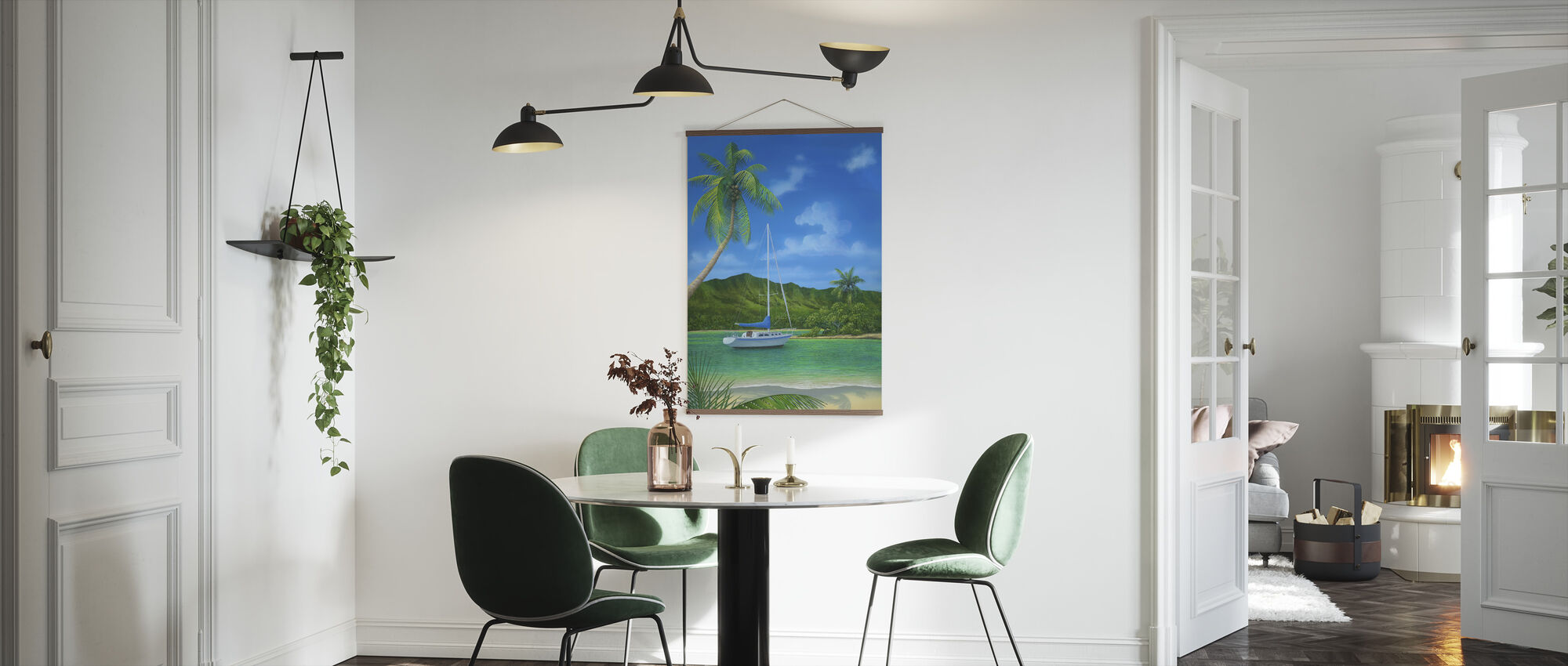 A Place in Paradise - Poster - Kitchen