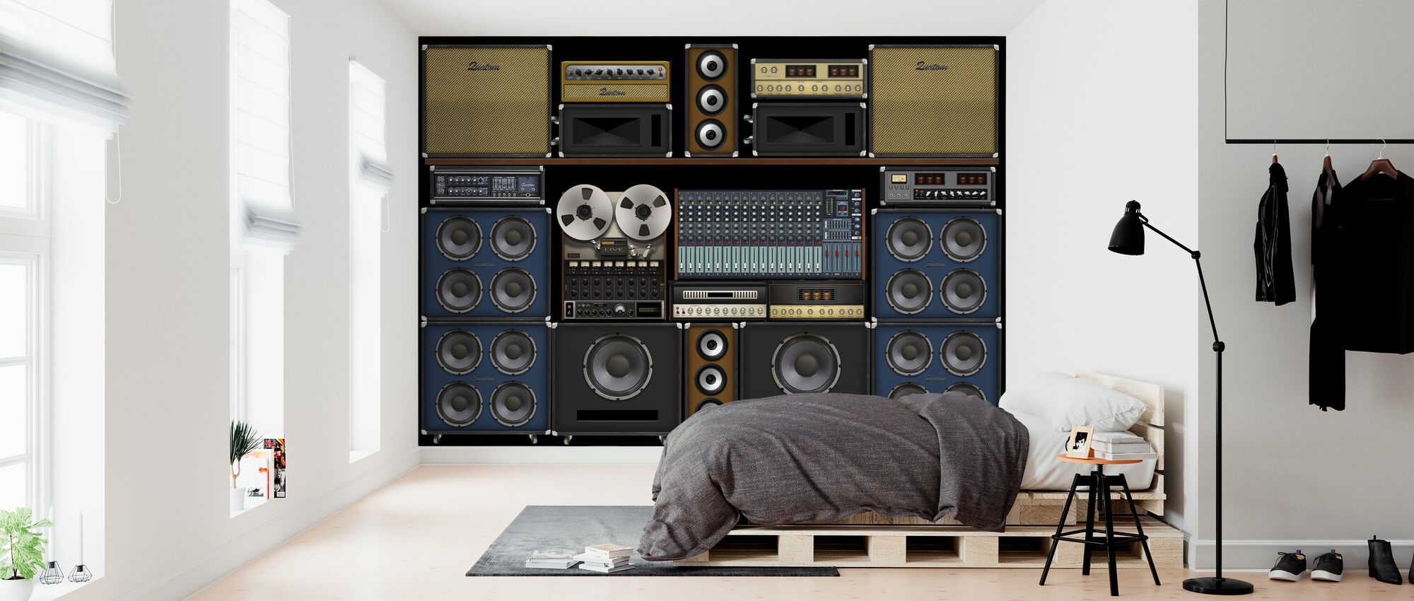 Studio Wand - Tapete - Schlafzimmer