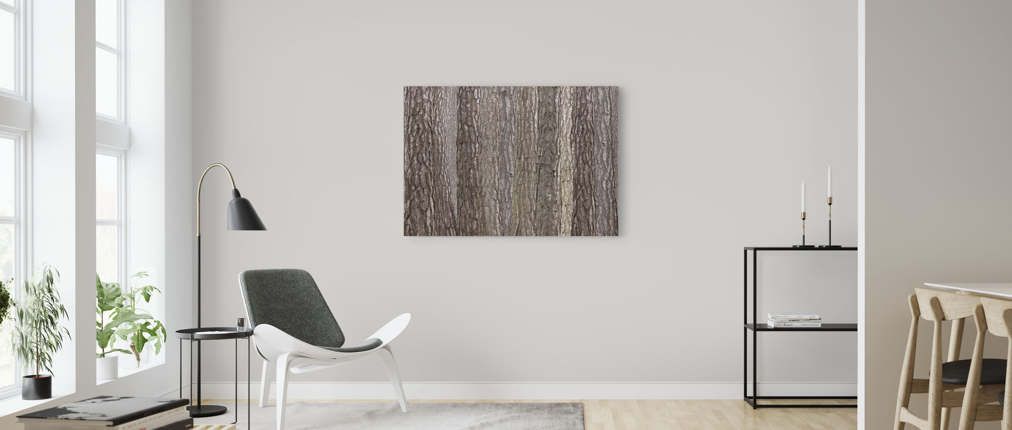 Park Brown - Canvas print - Living Room