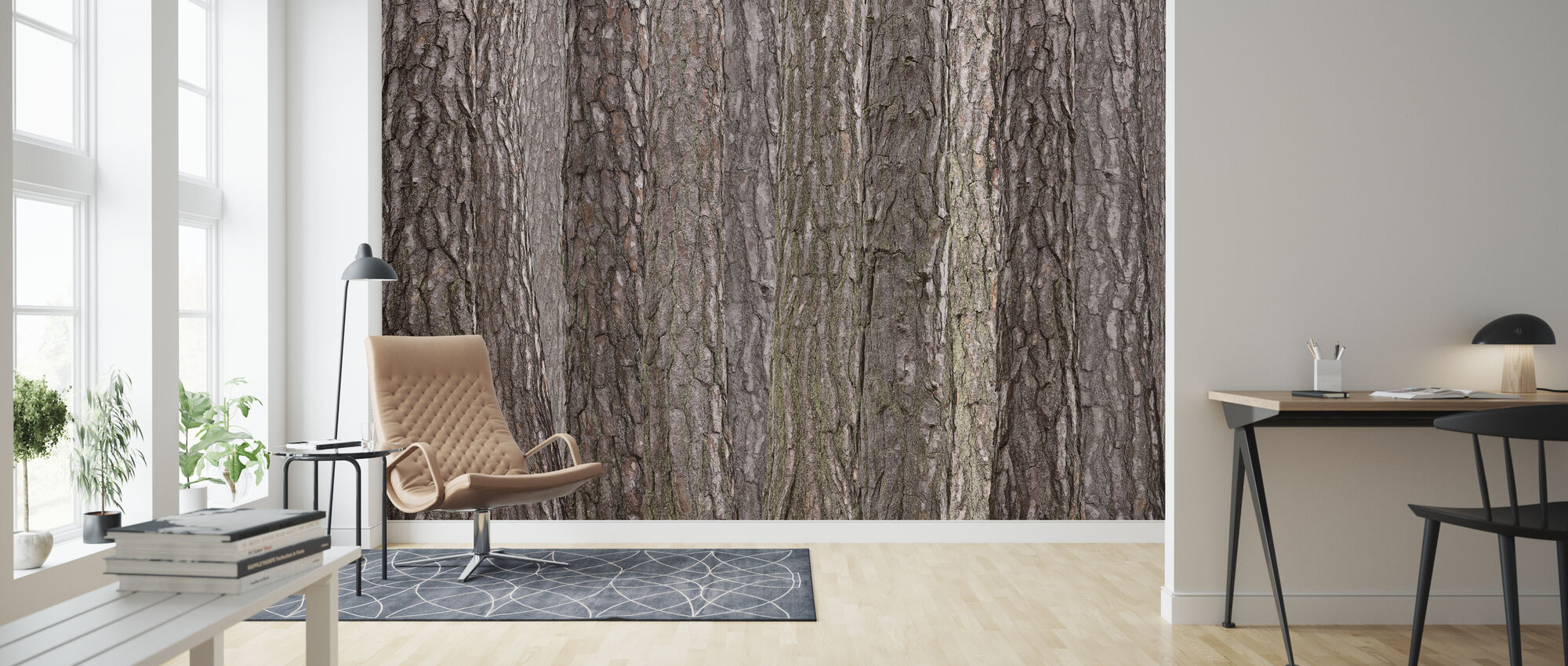 Park Brown - Wallpaper - Living Room