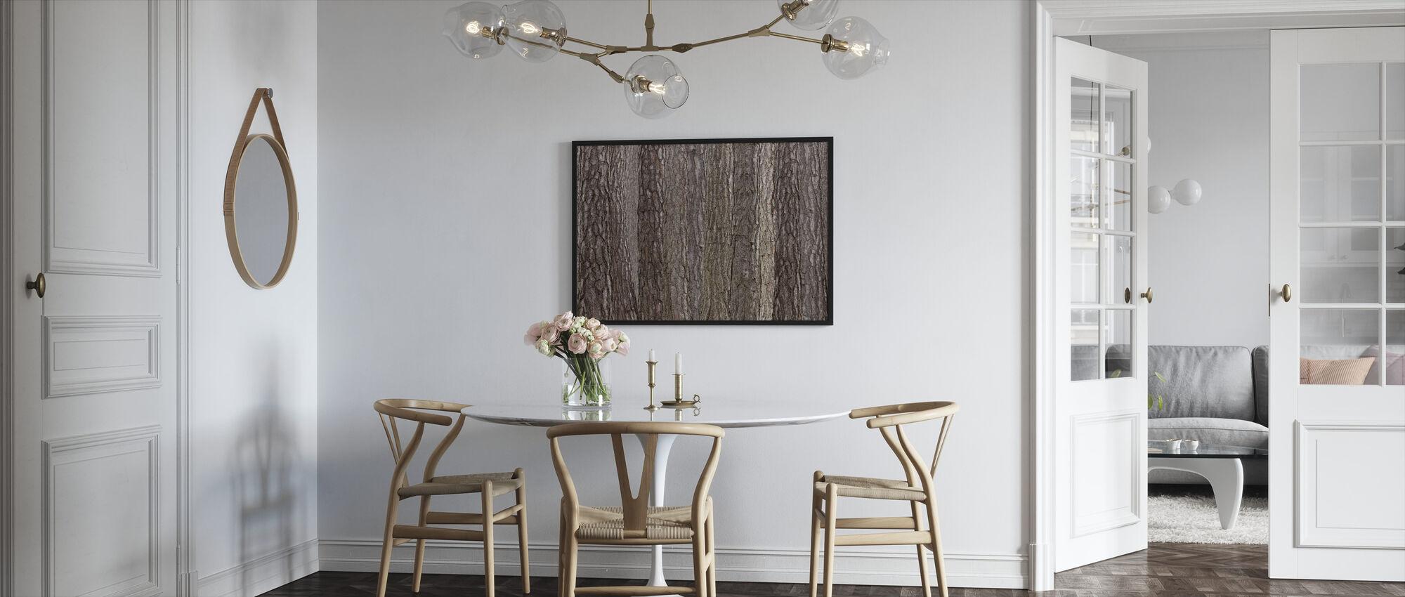Park Bruin - Ingelijste print - Keuken