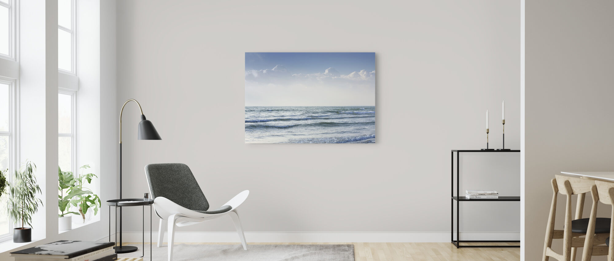 Ocean Waves - Canvas print - Living Room