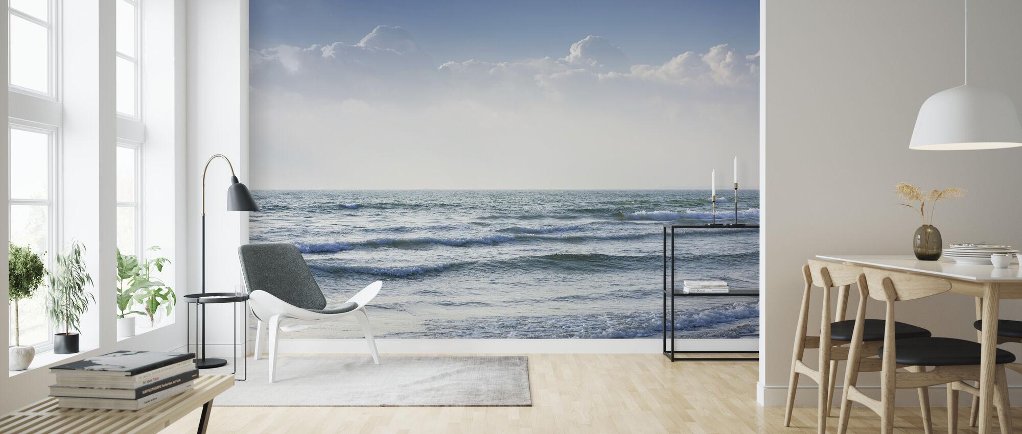 Oceaangolven - Behang - Woonkamer