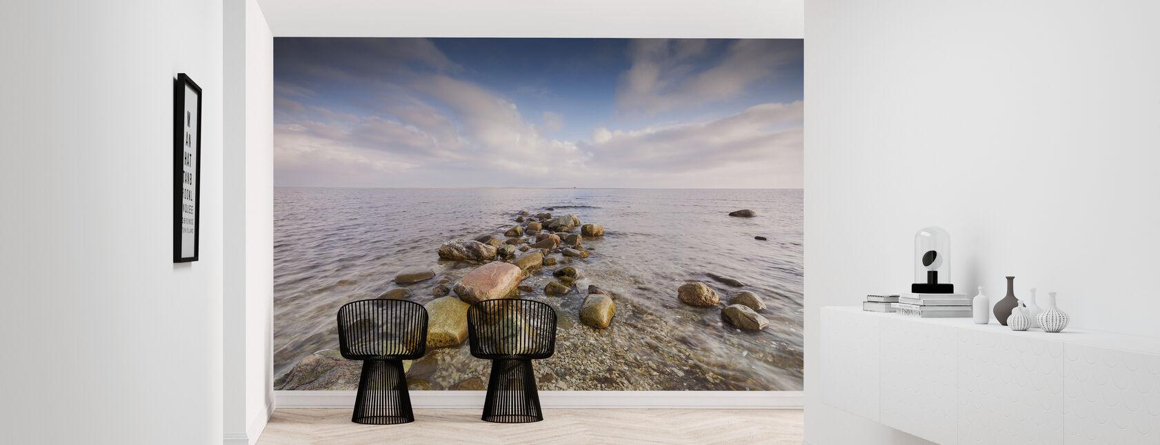 Steine im Meer - Tapete - Flur