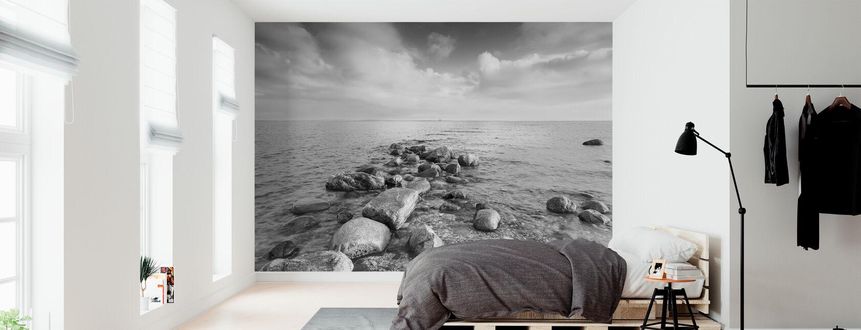 Musta ja Valkoinen meri - Tapetti - Makuuhuone