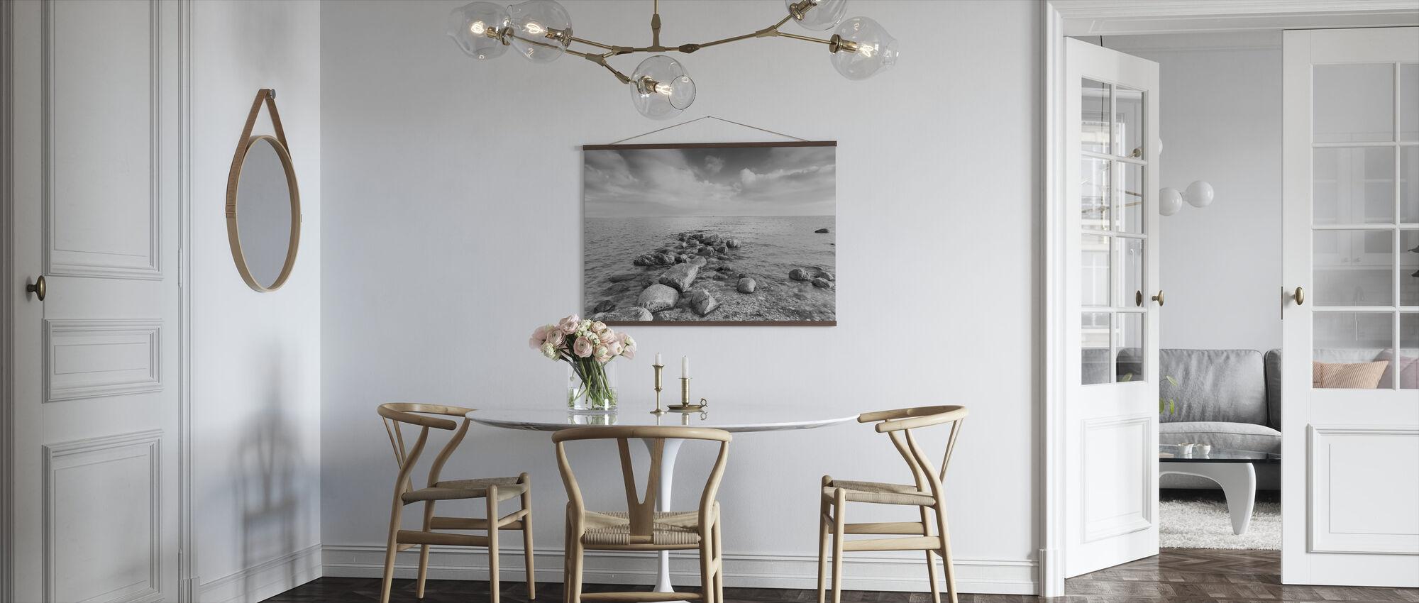 Svarta och Vita Havet - Poster - Kök