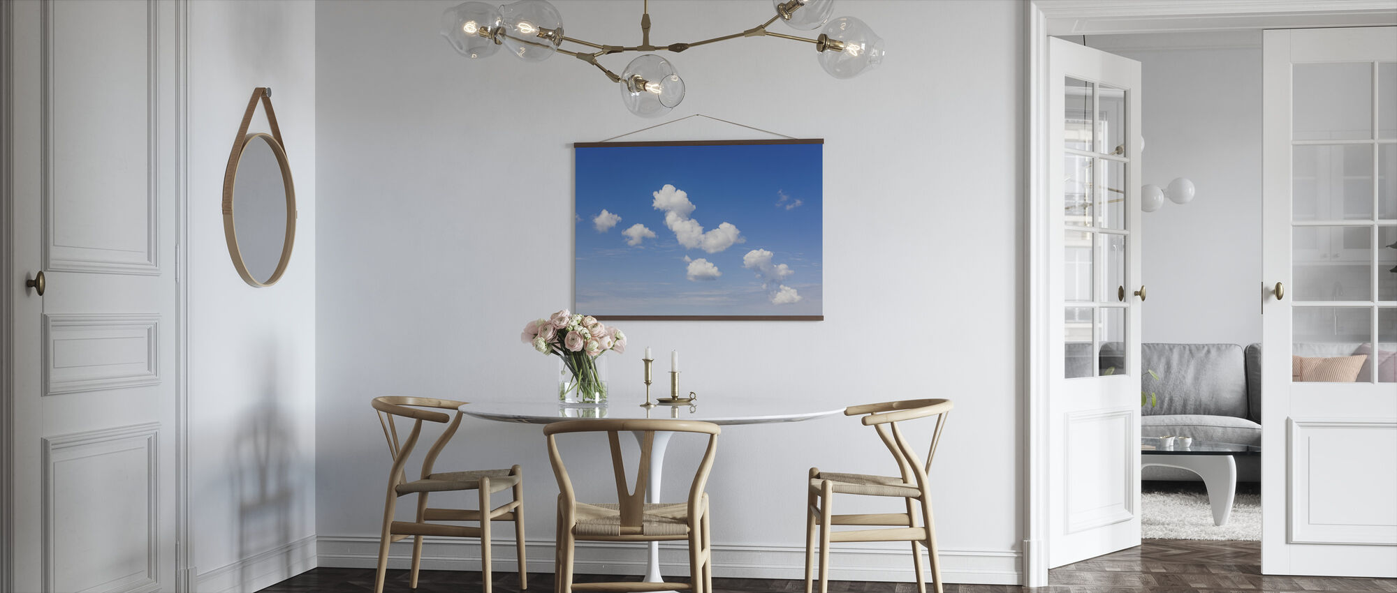 White Clouds - Poster - Kitchen