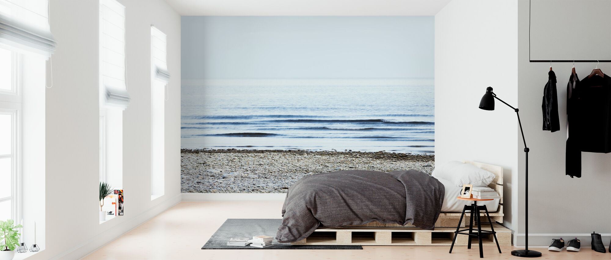 - Stranden - Tapet - Soveværelse