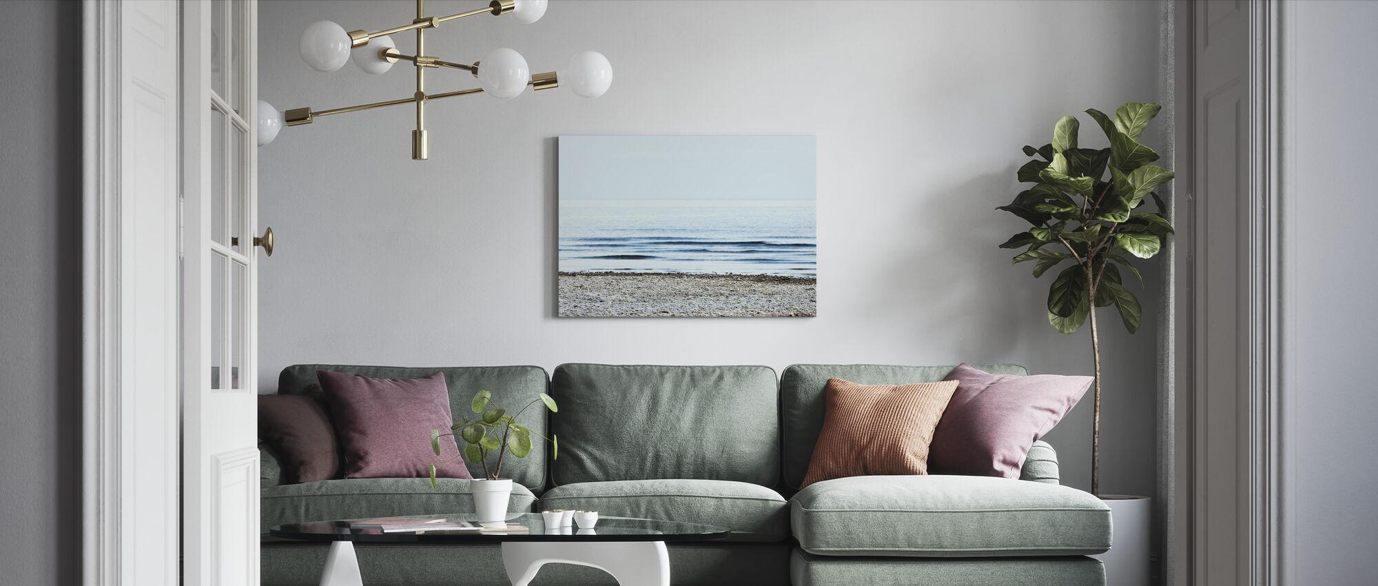 Beach - Canvas print - Living Room