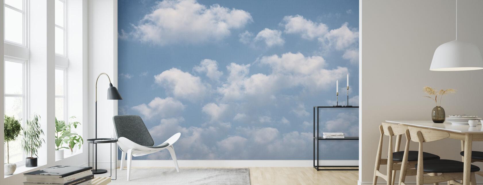 Cloud Sky - Wallpaper - Living Room