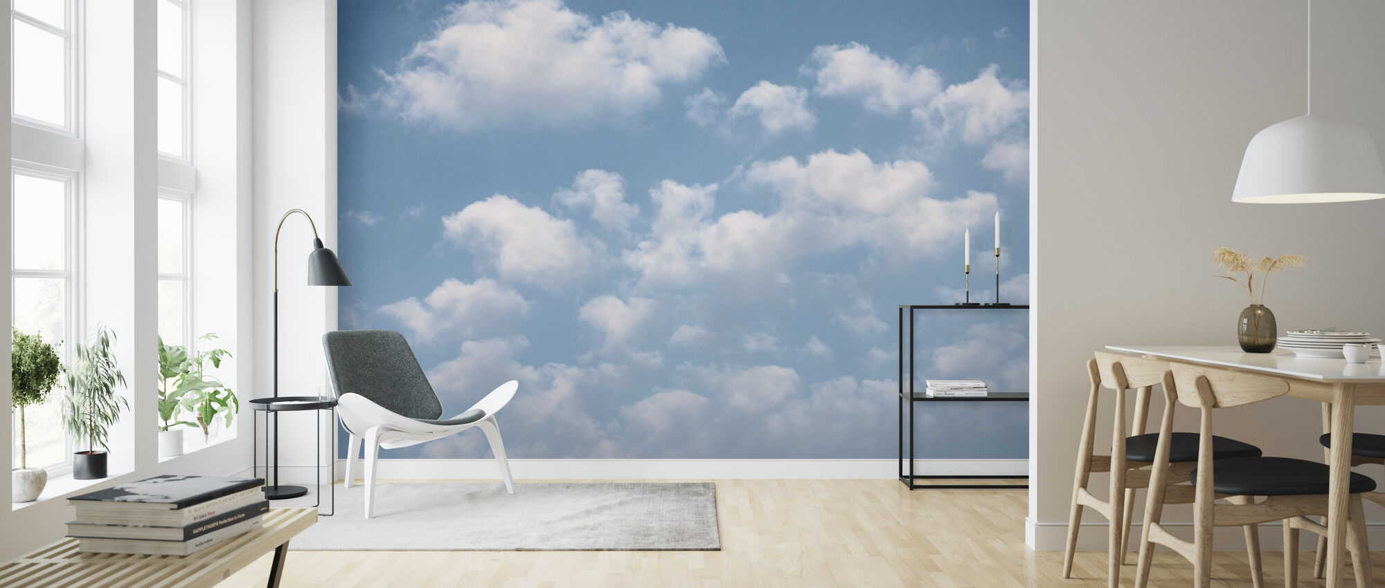 Cloud Sky - Wallpaper - Living Room