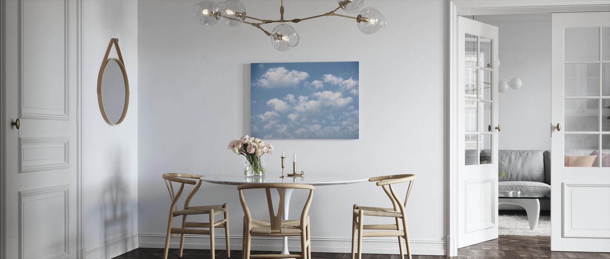 Cloud Sky - Canvas print - Kitchen