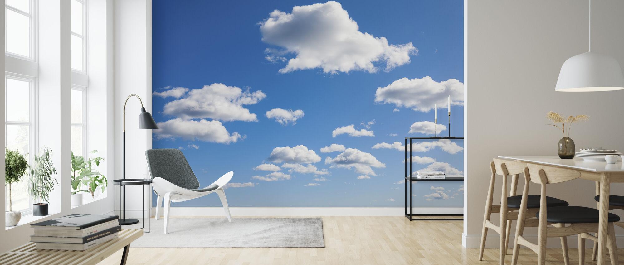Cloud Cloud - Wallpaper - Living Room