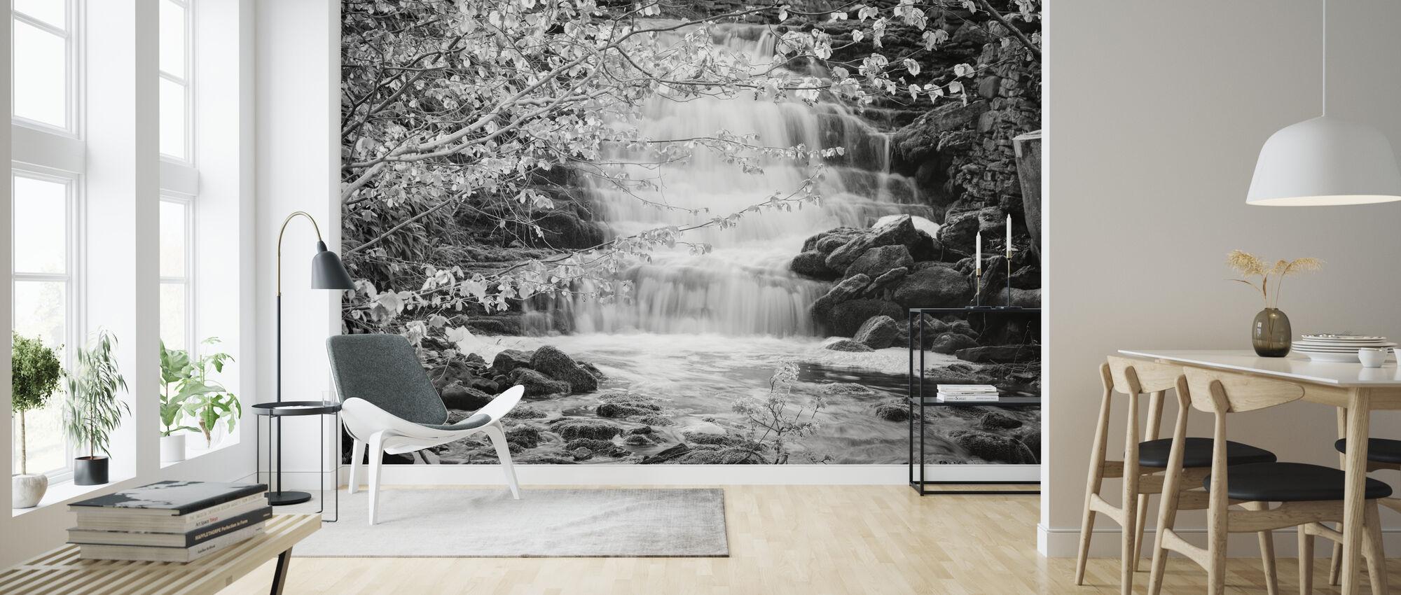 Lummelunda Waterwall - Wallpaper - Living Room