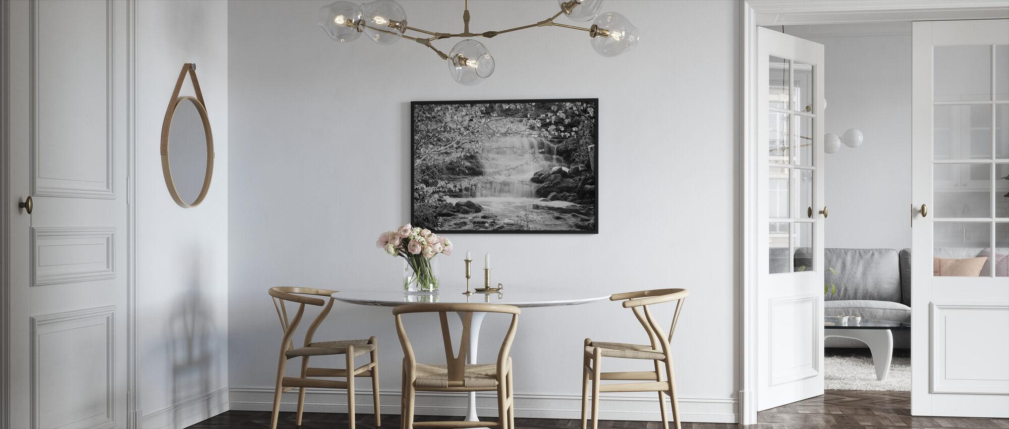 Lummelunda Waterwall - Framed print - Kitchen