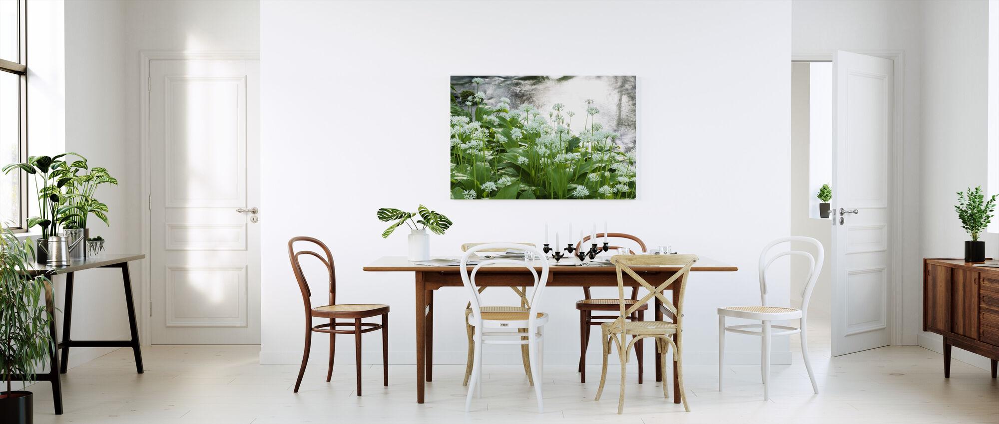 Ramson - Canvas print - Kitchen