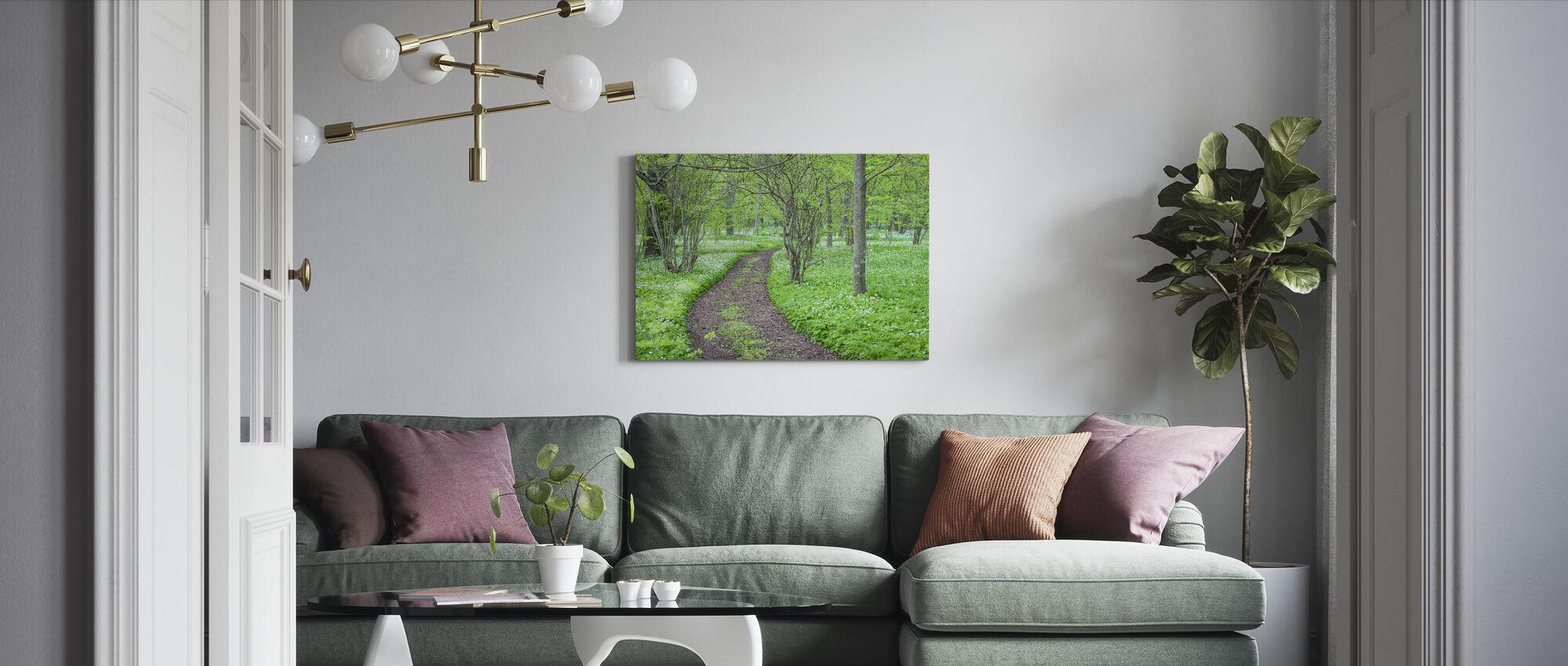 Green Park - Canvastavla - Vardagsrum