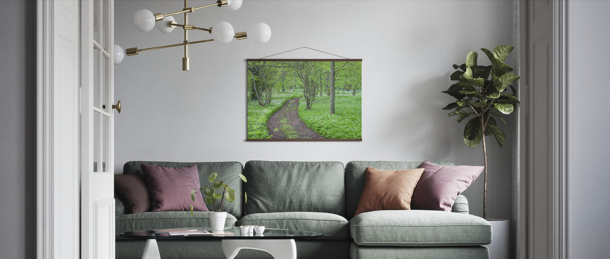 Green Park - Poster - Living Room