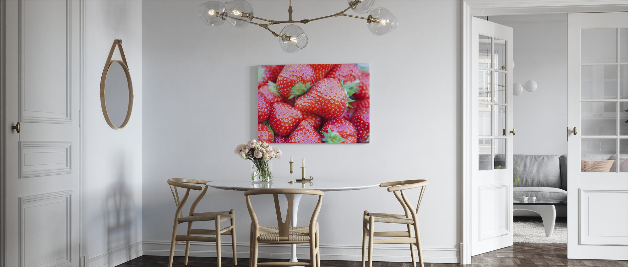 Strawberry - Canvas print - Kitchen