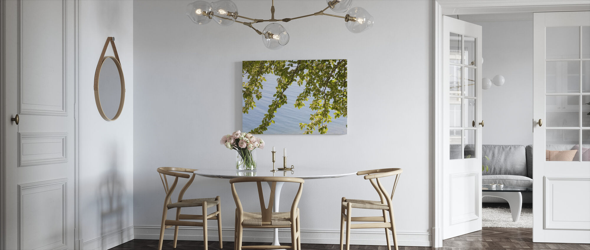 Spring Leave - Canvas print - Kitchen