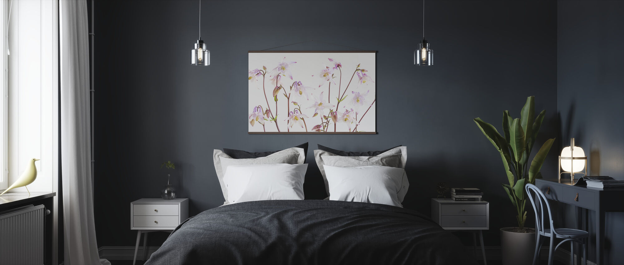 Aquilegia - Poster - Bedroom